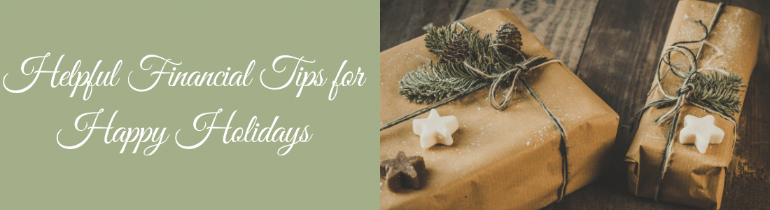 helpful holiday financial tips